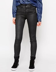 Blend She Bright Gily Mid Rise Skinny Jeans Grey
