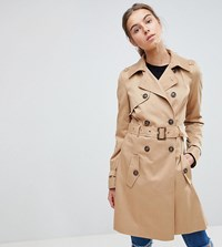 Asos Tall Classic Trench Coat Stone