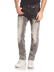 Prps Demon Toubra Faded Slim Fit Jeans Bleach White