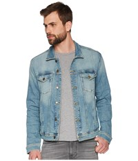 Tommy Jeans Classic Trucker Jean Jacket Illinois Light Blue Stretch Coat