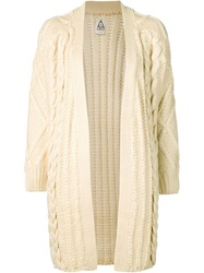 Unif 'Reverb' Cardigan Nude And Neutrals