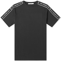 Givenchy Taped Sleeve Tee Black