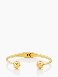 Kate Spade Dainty Sparklers Knot Cuff Gold