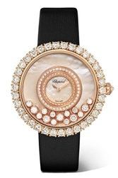 Chopard Happy Dreams 36Mm 18 Karat Rose Gold