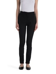 Valentino Skinny Wool And Silk Tuxedo Pants
