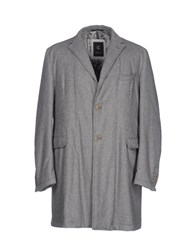 Calvaresi Coats Grey