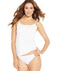 Charter Club Strappy Camisole 105106N246 White