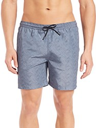 Theory Cosmos Line Wave Swim Shorts Molinas