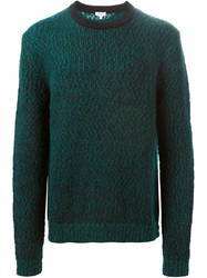 Kenzo Crew Neck Sweater Green