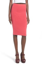 Women's Leith Stretch Knit Tube Skirt Red Barberry