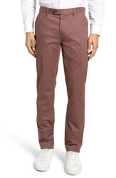 Ted Baker London Procor Slim Fit Chino Pants Dusty Pink