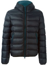 Mauro Grifoni Hooded Padded Jacket Black