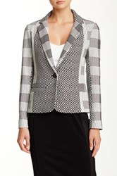 Yoana Baraschi Highlife Patchwork Blazer Black