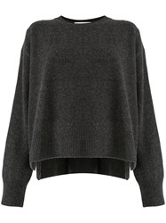 Le Ciel Bleu Crew Neck Relaxed Fit Jumper 60