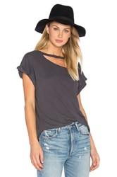 Lna Valley Tee Charcoal