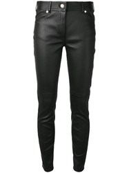 Givenchy Skinny Leather Trousers Black