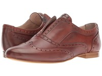 Massimo Matteo Laceless Wing Oxford Cuoio Women's Shoes Brown