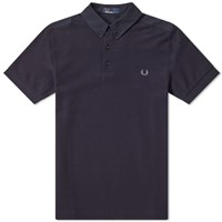 Fred Perry Oxford Collar Pique Polo Blue