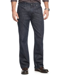 Alfani Red Jackson Slim Fit Bootcut Jeans Dark Blue Wash Only At Macy's