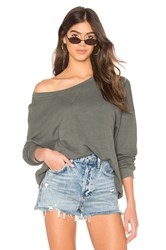 Lamade New Moon Top Olive