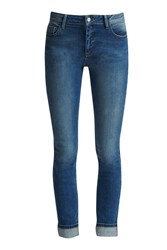 French Connection Rigid Skinny Jeans Navy
