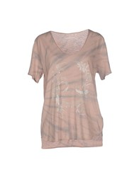 Zadig And Voltaire Topwear T Shirts Women Light Brown
