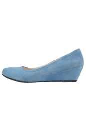 Pier One Wedges Light Blue