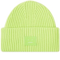 Acne Studios Pansy N Face Beanie Green