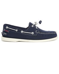 Sebago Navy Docksides Neoprene Boat Shoes