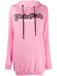 Philipp Plein Hooded Logo Dress 60