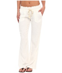 Roxy Ocean Side Pant Sea Salt Women's Casual Pants Multi