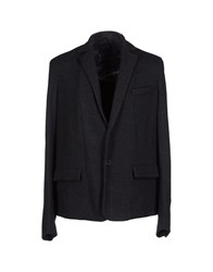 Gentryportofino Suits And Jackets Blazers Men Steel Grey