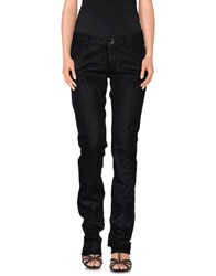 Replay Denim Denim Trousers Women Black