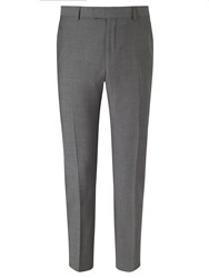 Richard James Mayfair Tonic Sheen Slim Suit Trousers Charcoal