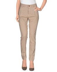 Nellandme Trousers Casual Trousers Women Sand