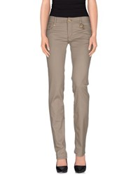 Roccobarocco Denim Denim Trousers Women Grey