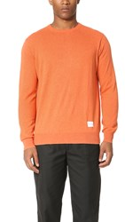 Mki Miyuki Zoku Cotton Cashmere Sweater Burnt Orange