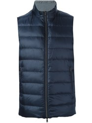 Herno Sleeveless Jacket Blue