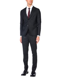Aglini Suits And Jackets Suits Black
