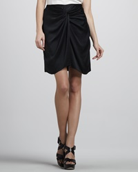 Textile Elizabeth And James Femi Draped Silk Skirt