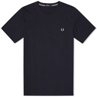Fred Perry New Classic Crew Neck Tee Black