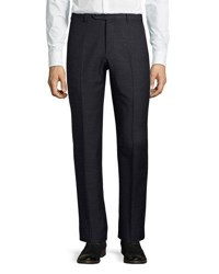 Zanella Parker Wool Pants Navy