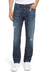 Fidelity Men's Big And Tall Denim Jimmy Slim Straight Leg Jeans Blue Soul