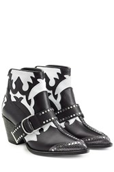 Zadig And Voltaire Leather Ankle Boots Black
