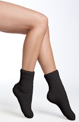 Women's Nordstrom 'Butter' Slipper Socks Black