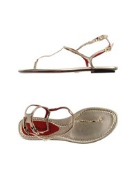 Cesare Paciotti Footwear Thong Sandals Women