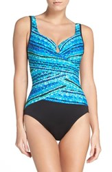 Miraclesuitr Women's Miraclesuit Night Lights Escape Underwire One Piece Swimsuit