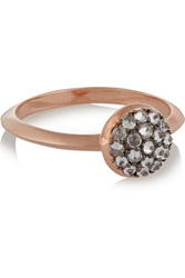 Katie Rowland Java Rose Gold Plated Quartz Ring