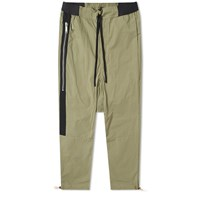 Unravel Project Lightweight Tela Drop Crotch Pant Green