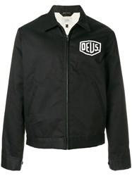 Deus Ex Machina Lightweight Logo Jacket Black